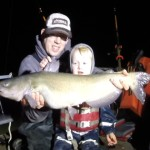 12 lb channel catfish on live shad