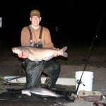 28 lb blue catfish