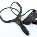 A baiting slingshot from Fox International.