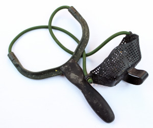 A baiting slingshot from Fox International is a great mid range baiting tool.