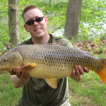 19 lb common carp at Algonkian Regional Park,Va