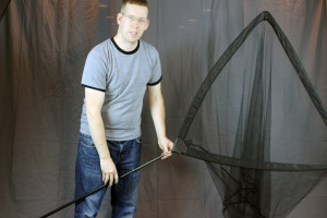 "My Fox Warrior S landing Net. Its 6' long 42"" wide and weighs about 1 pound. This net is awesome!"