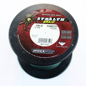 Braided Spider Wire Line