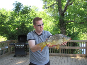 Carp fishing in Virginia for Mirrors