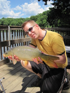 A great  example of a what you can expect from carp fishing in Virginia