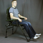 "At 6'4"" and 230 lb, I actually fit in a chair for once in my life."