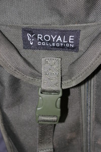 The Front Pouch of the Fox Royale 3-Rod Holdall