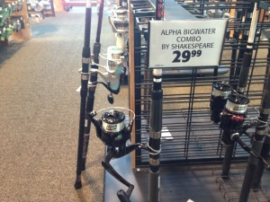 For $29 you can get a beginner catifhsing rod and reel combo with the line already on the reel.