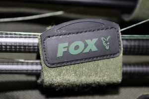 Fox makes these awesome rod bans that you can use to keep your rods and leads from banging together in the quiver.