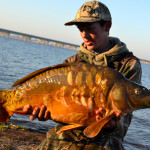 Texas carp fishing guide Austin Anderson