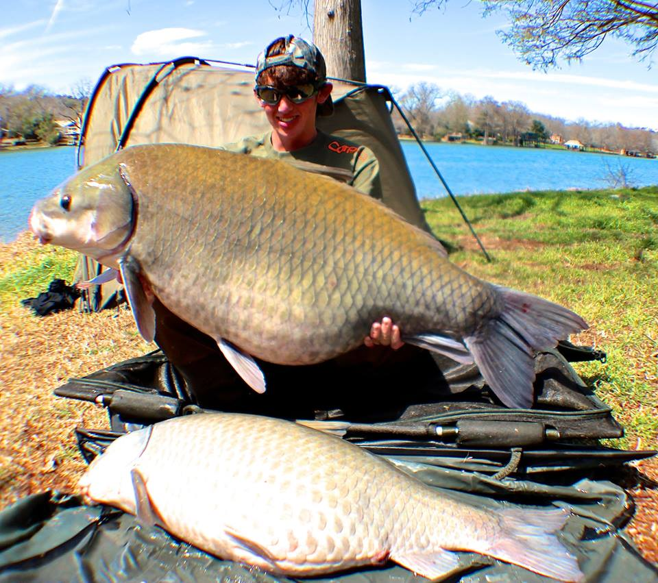 Freshwater fish england - Buffalo Guide Austin Anders Of Http Www Texascarpguide Com With
